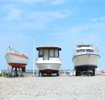 aeroeskoebing denmark hut water sky blue boat