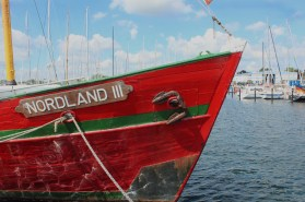strande marina germany boats