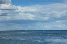 boats water summer kerteminde denmark
