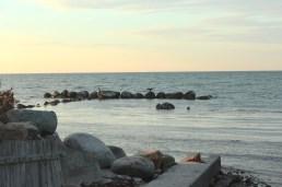 gilleleje denmark seeland coast sunset blue