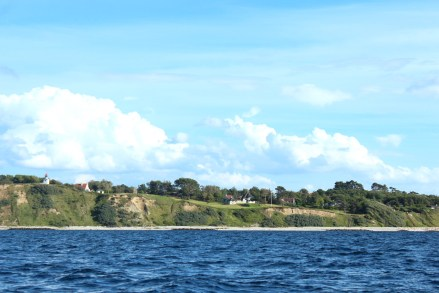 hundested seeland denmark sunset coast house shore