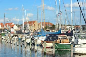 hundested seeland denmark marina boats coast masts