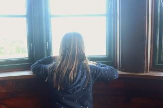hundested seeland denmark inside museum child window house shore