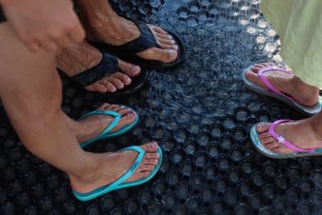 sejero feet water wet dark blue denmark island boatingthebaltic.com