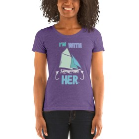 I'm With HER (Gaff Rig – pastel) Women's