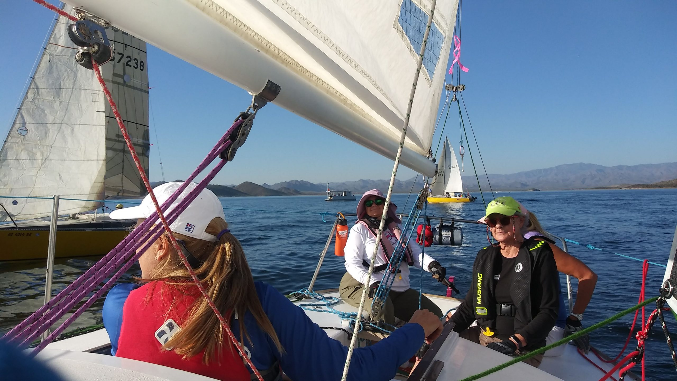 Read more about the article Women Sailing Conventions and Clubs: Join Me Next Time!