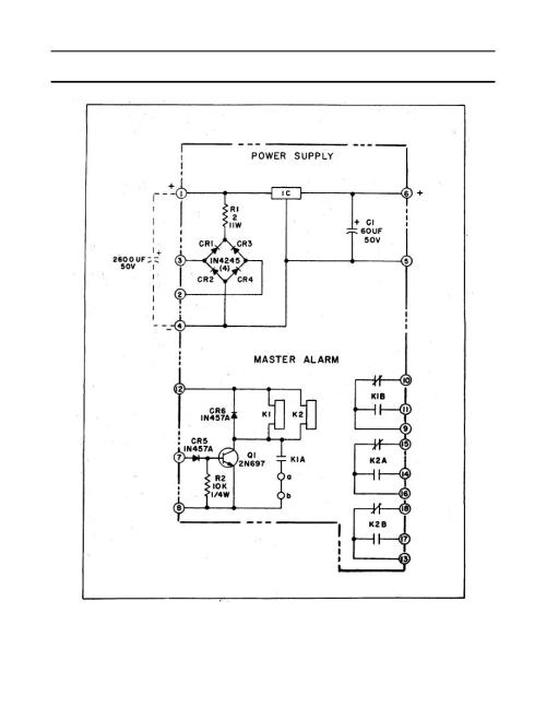 small resolution of power supply and master alarm module ps1 ps2 schematic diagram ps2 power supply schematic