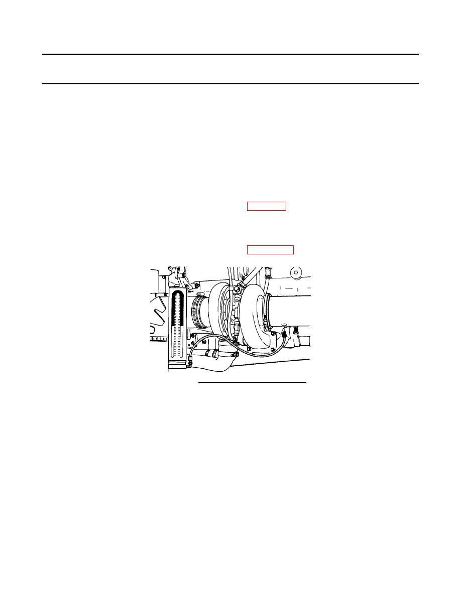 FIGURE 2-8. Mercury Manometer Installation