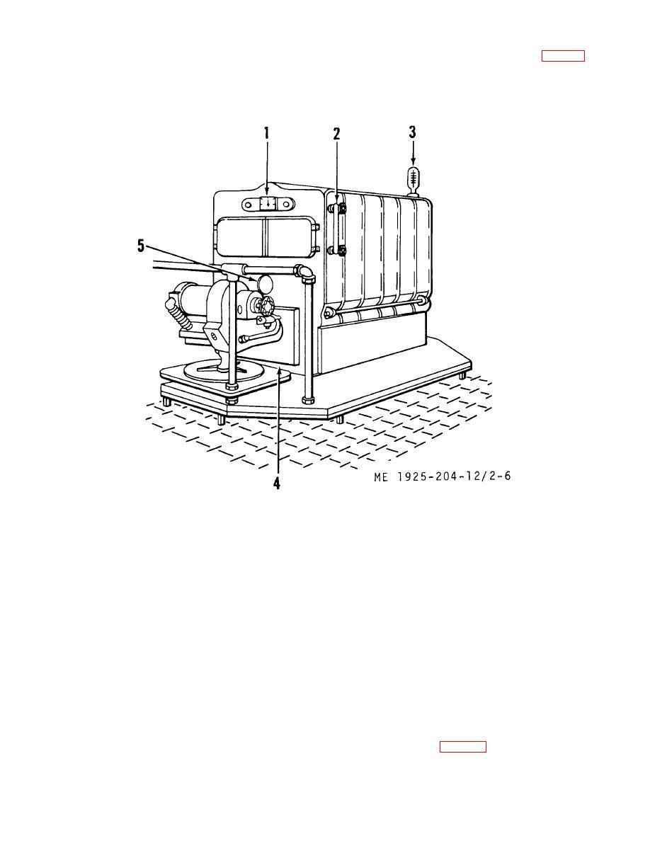 Figure 2-6 Heating boiler controls