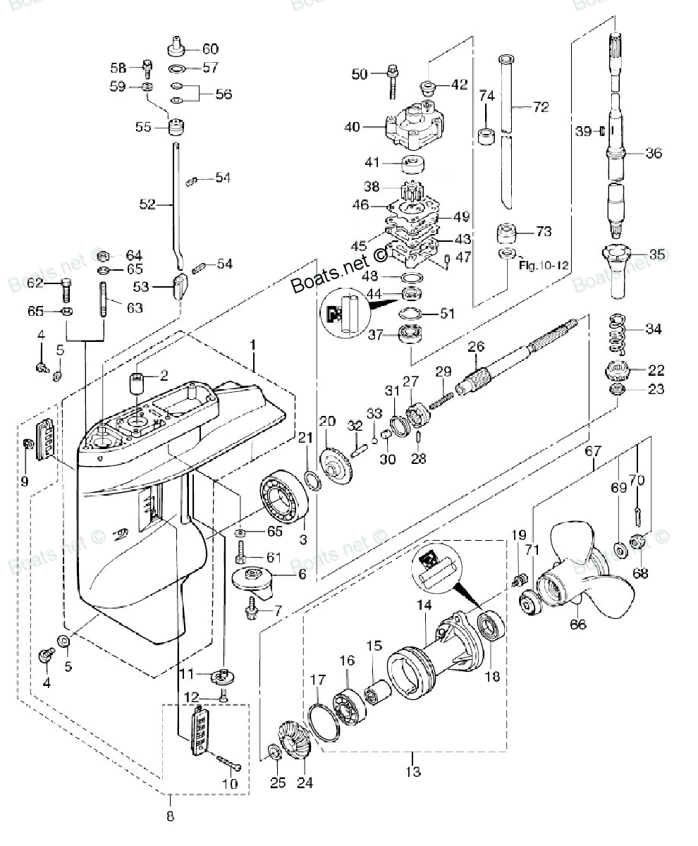 medium resolution of lower unit diagram of 2011 mfs25b tohatsu outboard lower unit diagram and parts