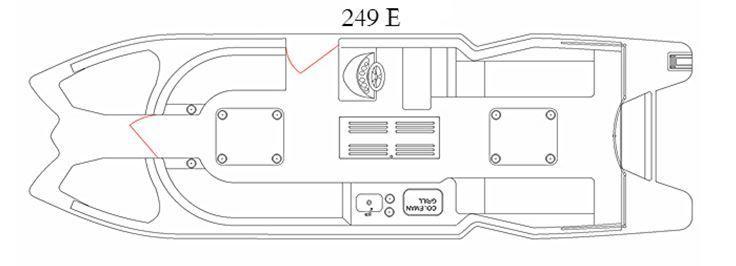 Caravelle 249E E-toon Razor 2014 for sale for $42,849