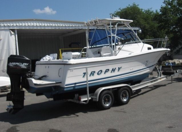 boat trailer single or dual axle dodge electronic power steering bayliner trophy 1997 for sale $18,200 - boats-from-usa.com