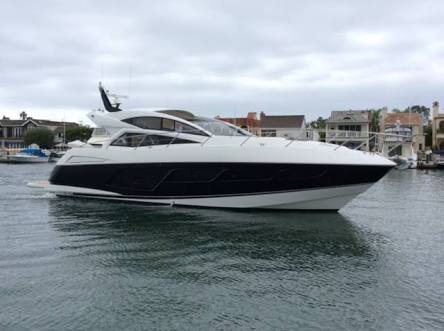 Sunseeker 57 ft long