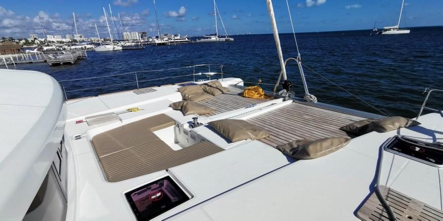Catamaran to Isla Mujeres