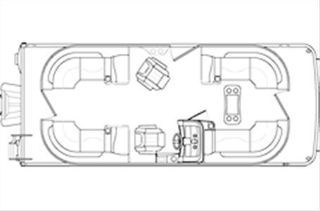 2020 Bennington Marine 22 SSRXP Lapeer MI for Sale 48446
