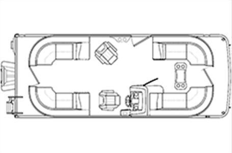 2020 Bennington Marine 23 SSRX TRI TUBE Lapeer MI for Sale