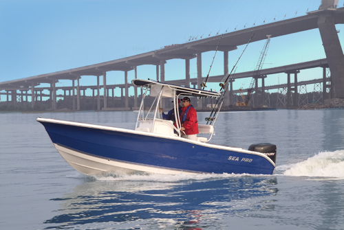 Research SeaPro Boats 220 CC Center Console Boat on