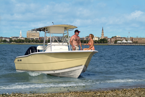 Research SeaPro Boats 238 CC Center Console Boat on