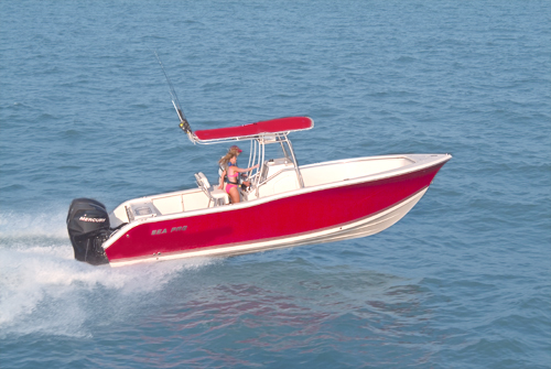 Research SeaPro Boats 270 CC Center Console Boat on