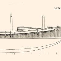 Schooner Boat: deeper, fuller hull