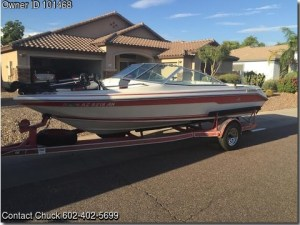 1990 Sea Ray Bowrider 180 | WPRocket