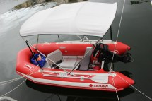 Aluminum Inflatable Boat Seat Frame - Year of Clean Water