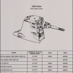 Volvo Penta 280 Outdrive Diagram 2001 Ford Ranger Motor Impeller Location Get Free