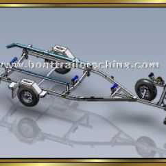 Boat Trailer Single Or Dual Axle Smeg Induction Hob Wiring Diagram Trailers China 23 39 Multi Roller