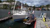 BoatWasher Kvarnholmen borsttvätt, båtbottentvätt