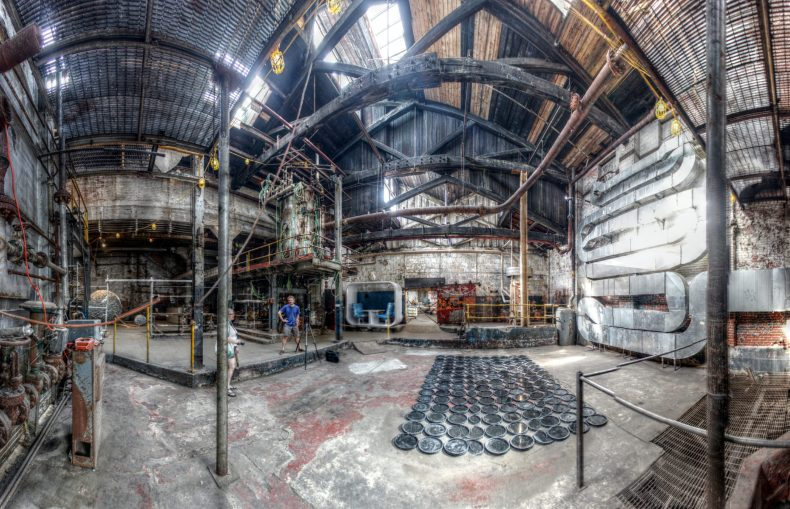 Globe Dye Works 4500 Worth Street Philadelphia, PA Copyright © 2013, Bob Bruhin. All rights reserved. (prints via bruhin.us/1op) ------ Luminance HDR 2.3.0 tonemapping parameters: Operator: Mantiuk06 Parameters: Contrast Mapping factor: 0.1 Saturation Factor: 0.8 Detail Factor: 1 ------ PreGamma: 1