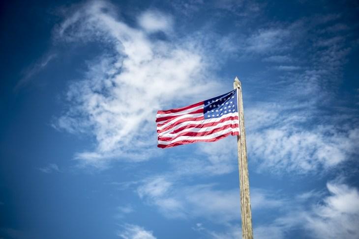 Flag Flagpole Patriotism American Flag Outdoors