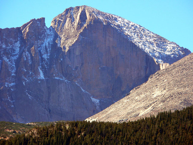 East face and notch