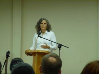 Nancy Teaching A Seminar