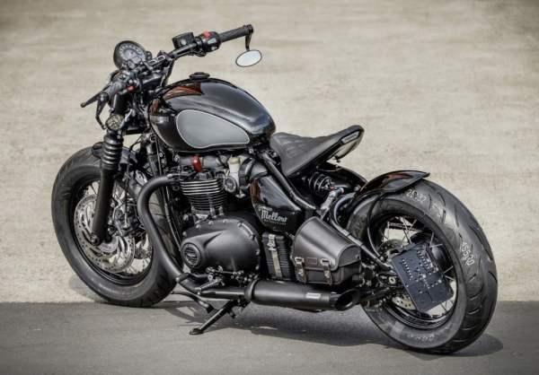 TRIUMPH BOBBER BLACK – UMBAU VON MELLOW MOTORCYCLES