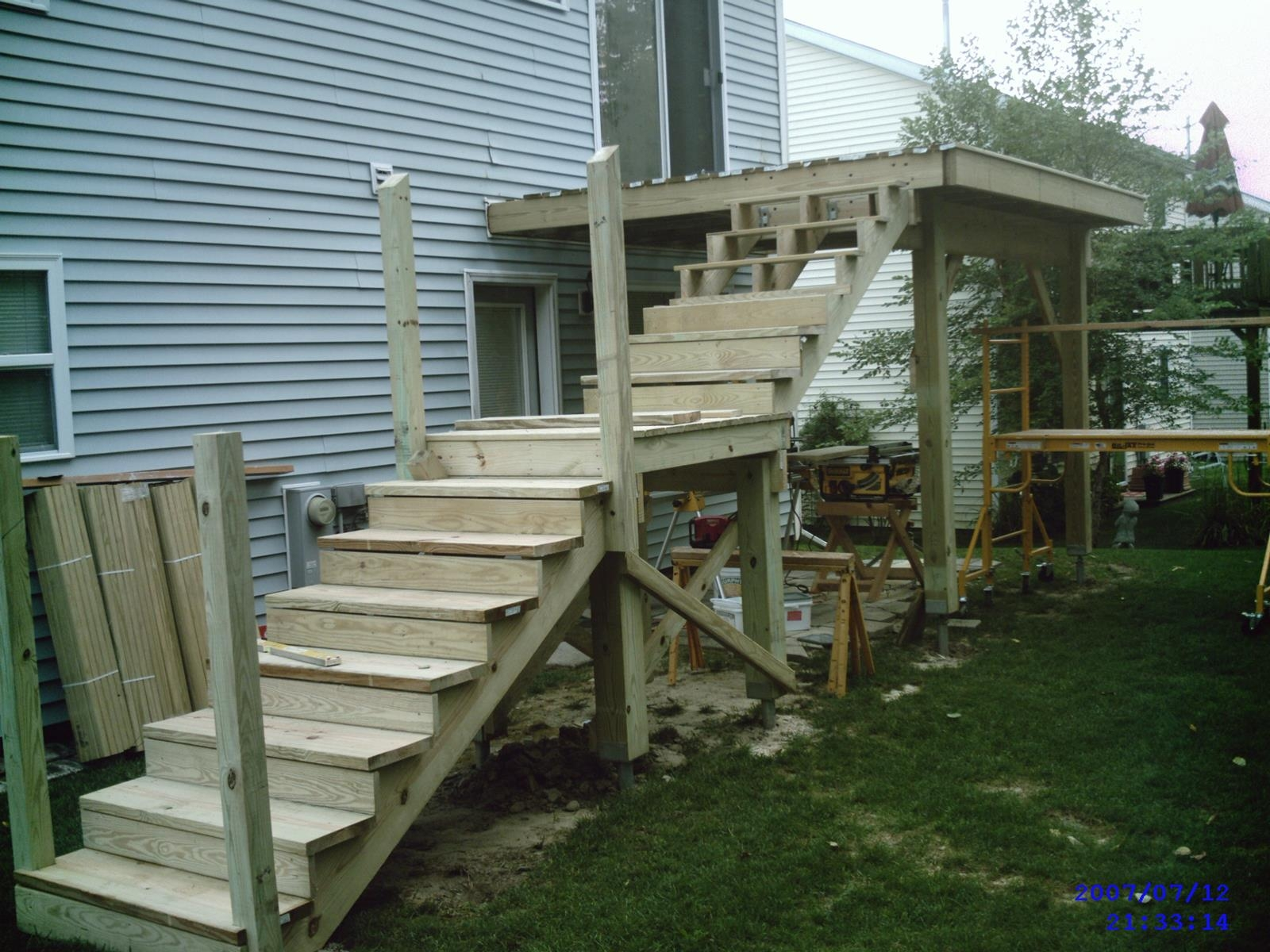 Projects – Bob Beyerl Llc | Exterior Stairs To Second Floor | Commercial Exterior | Design | Two Story | Covered | Patio