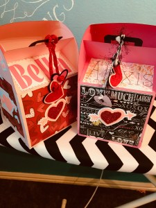 Kids valentines, mail boxes, valentine boxes