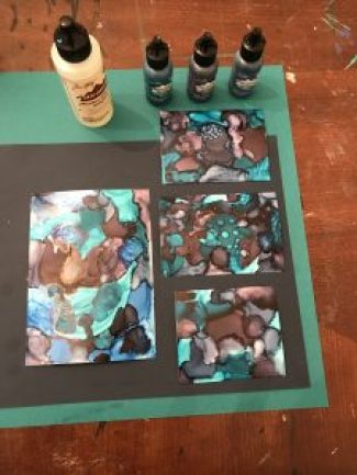 Alcohol Ink and Yupo Cardstock