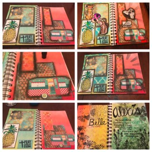 Art Journal with Gelato's