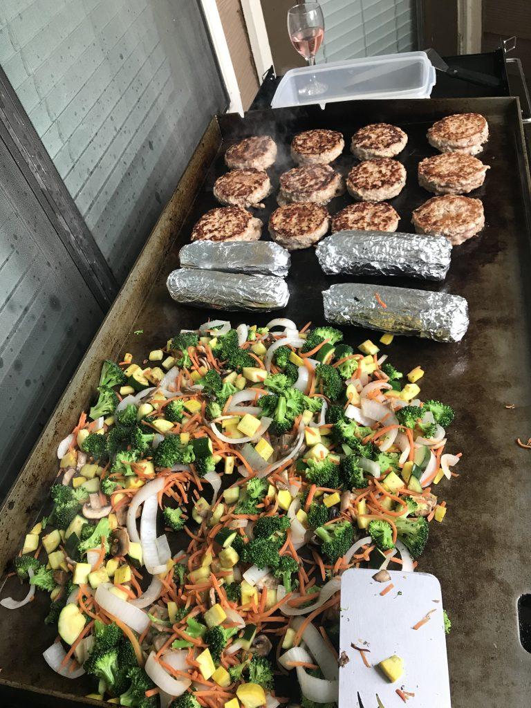 Griddle Meal Prep
