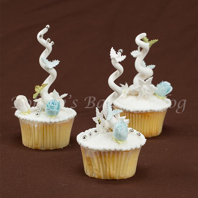 Whimsical Christmas Tree Cupcakes Bobbies Baking Blog