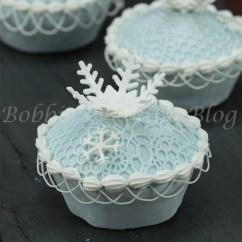 Kitchen Aid Coupons Utility Knife Snowflake Cupcakes | Bobbies Baking Blog