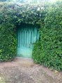 The most lovely garden doors after Bilbao.