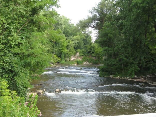Mill Drop Falls, Ontario County, New York 2012