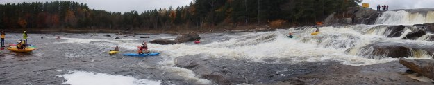 Agers Falls, Lewis County, New York, Moose River