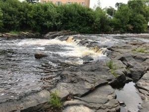 Canton Cascade and Rushton Falls, St. Lawrence County, New York