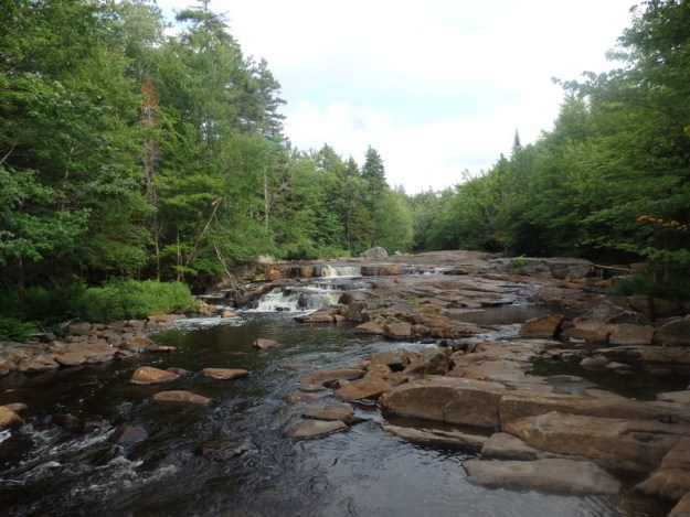 Twitchell Creek, falls on, Herkimer County, New York, Waterfall
