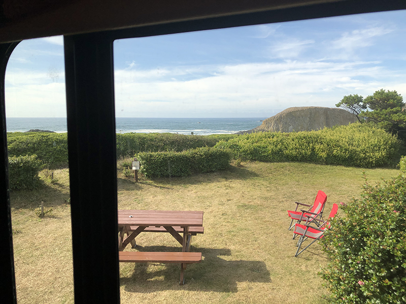 View from our bedroom Bodega Bay