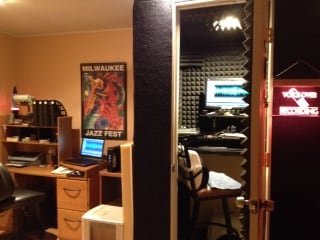 Voice Over Studio next to office