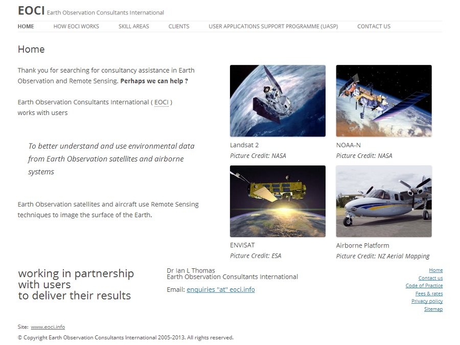 EOCI – Earth Observation Consultants Intl.