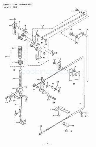 Presser Foot Fits Juki Home Domestic Sewing Machine TL-98P